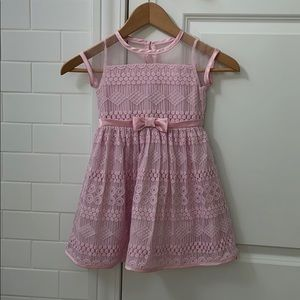 Little Angels by US Angles Dress Pink Dress 4T